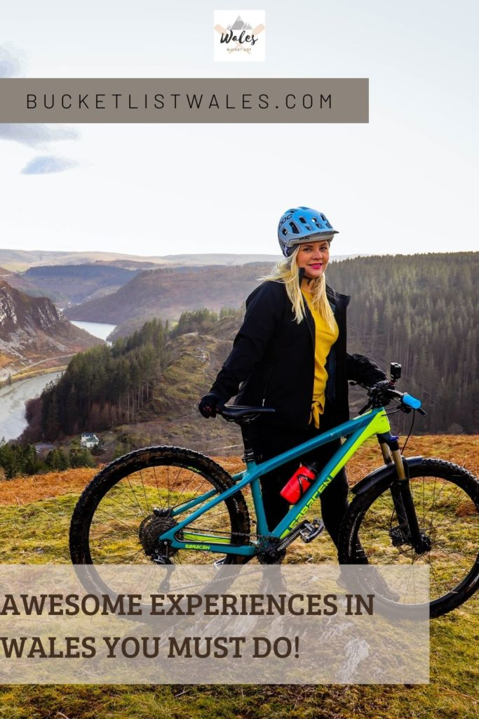 Whether you love outdoor activities, wildlife, magnificent architecture or dramatic scenery, there's something for everyone in Wales. Check out our list of unique experiences in Wales and get inspired. Choose from biking, hiking, zip-lining, coasteering, pottery classes, stargazing and more! Wales travel | outdoor adventure UK | UK travel | Get outside | adventure travel
