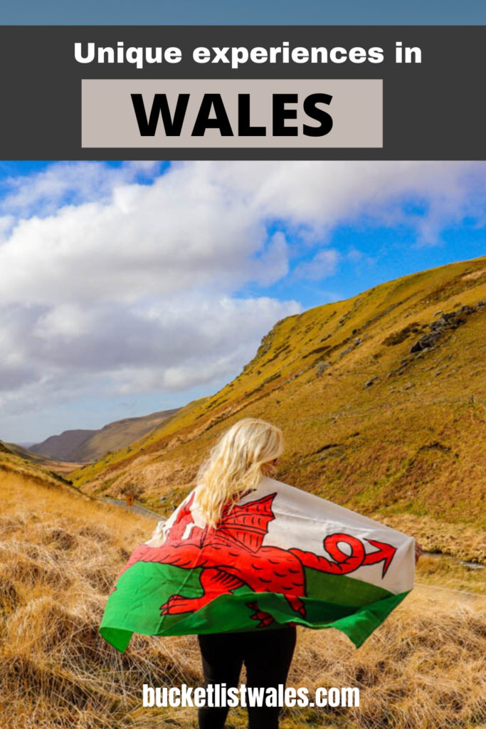 Whether you love outdoor activities, wildlife, magnificent architecture or dramatic scenery, there's something for everyone in Wales. Check out our list of unique experiences in Wales and get inspired. #wales #adventure #outdoors #getoutside