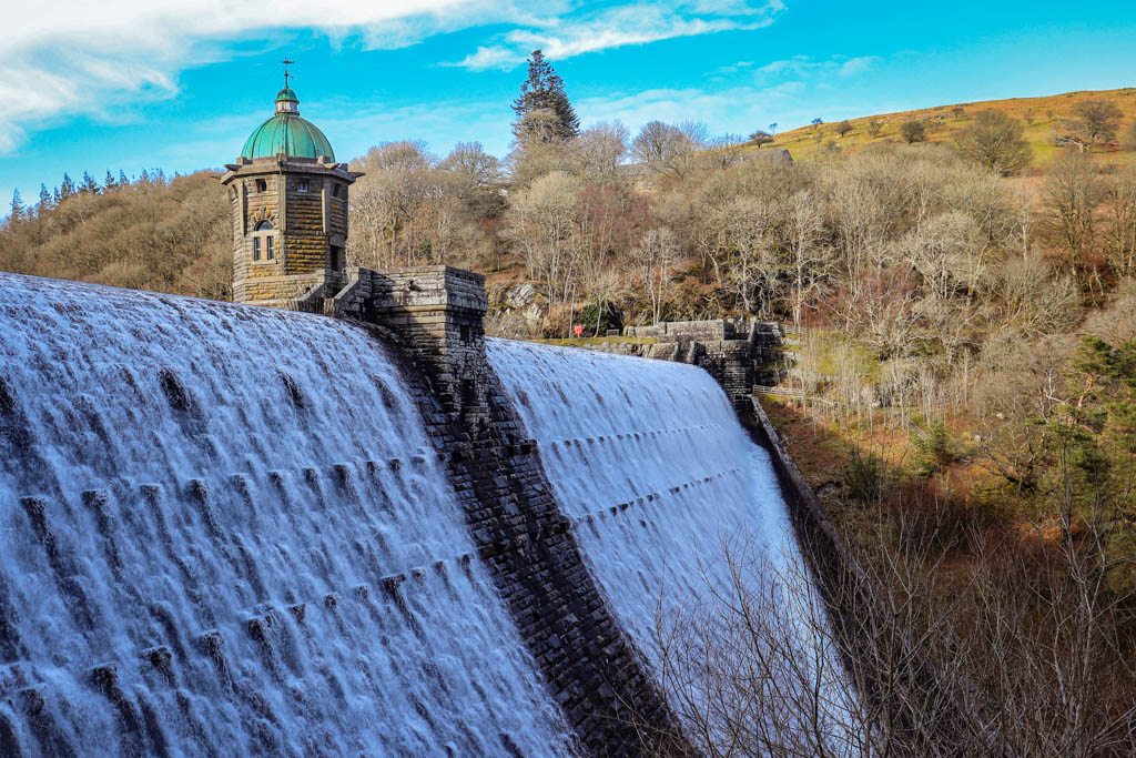 Elan valley dam open day