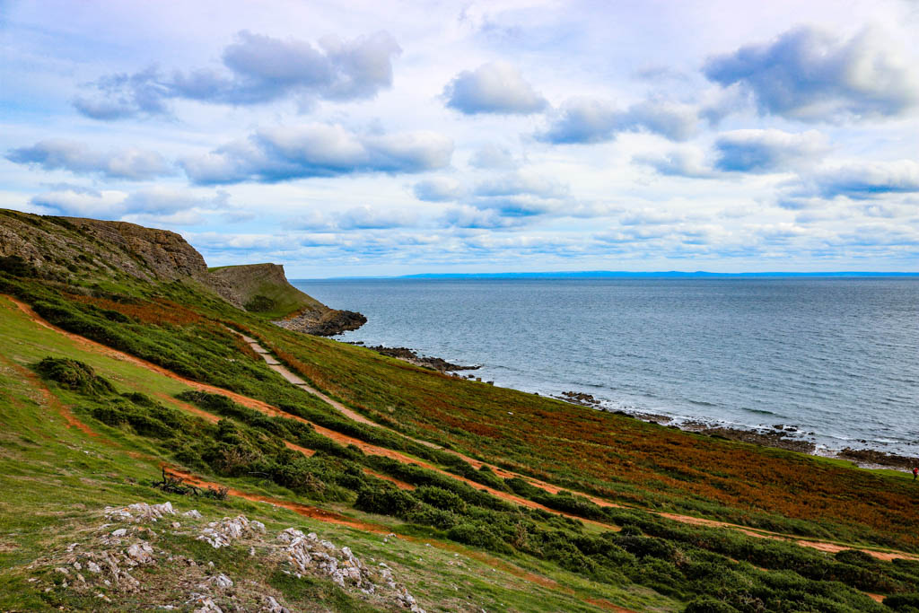 Worms Head walk the Gower Wales