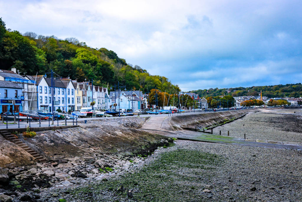 The Mumbles seafront, the Gower wales
