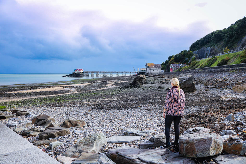 The Mumbles pier Swansea Bay wales
