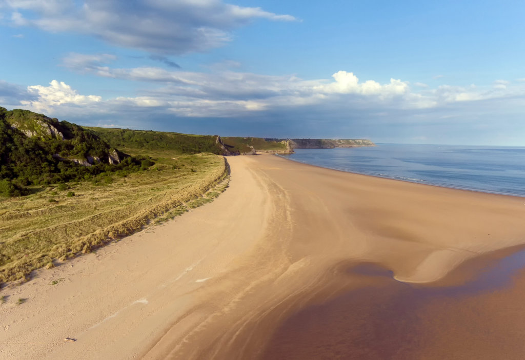 Award winning beaches in the Gower