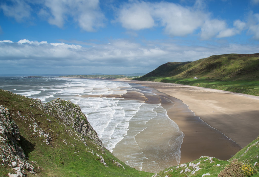 Best beaches in the Gower Wales