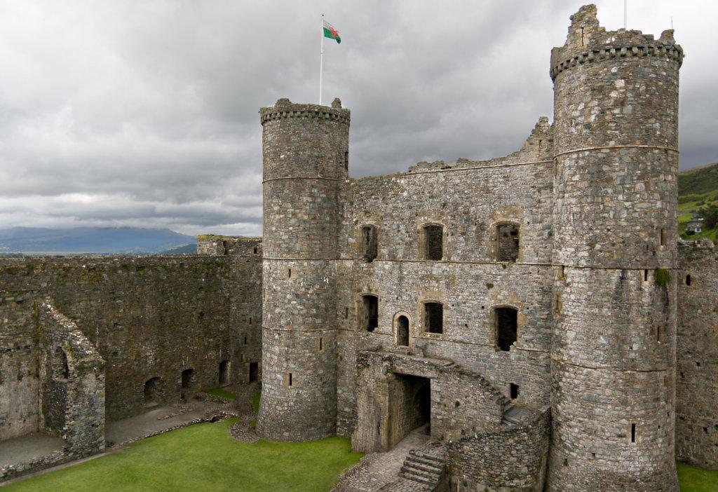 Harlech Castle must visit Castle in wales