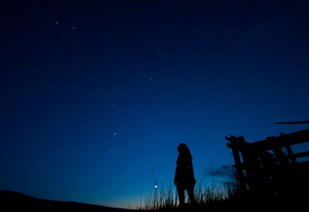 Stargazing in Wales
