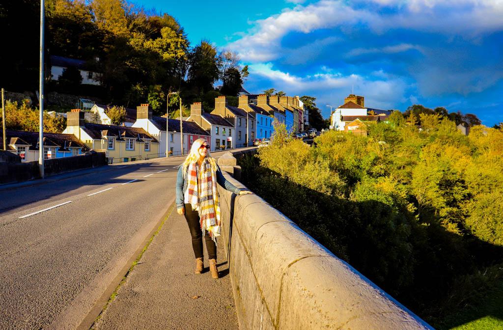walking in Llandeilo Wales