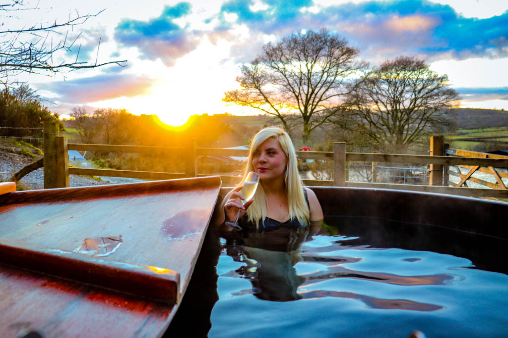 Hot tub holiday in wales