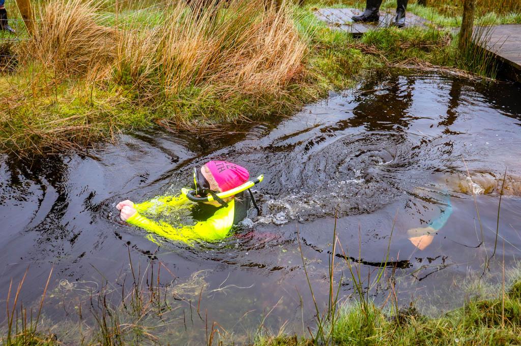 bog snorkelling championship Llanwrtyd Wells