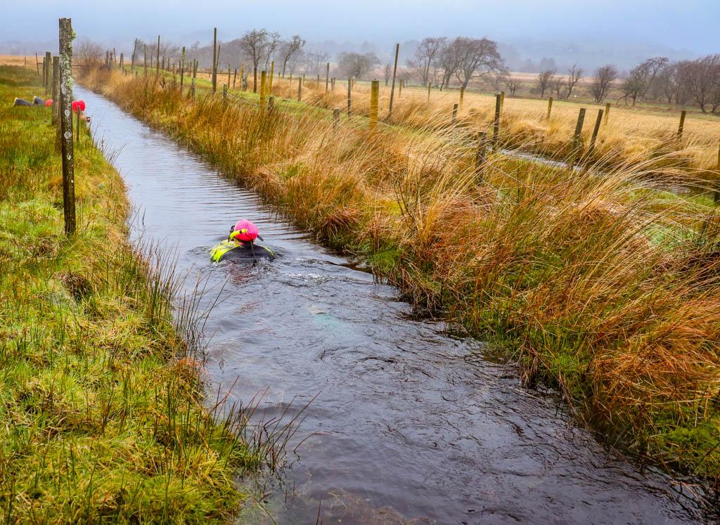 Llanwrtyd Wells bog snorkelling
