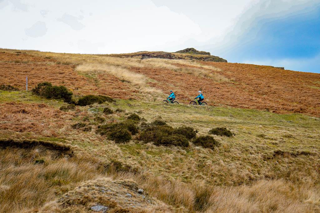 Trans Cambrian Way mountain biking