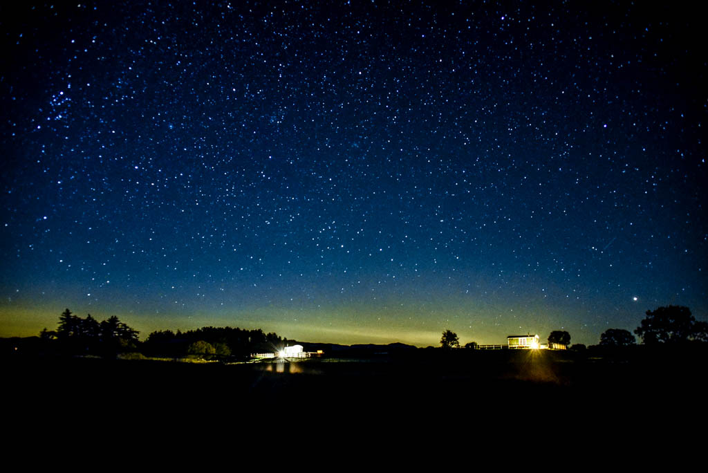 Stargazing in the Cambrian Mountains
