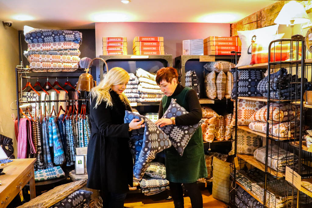 Browse boutique shops in Llandovery