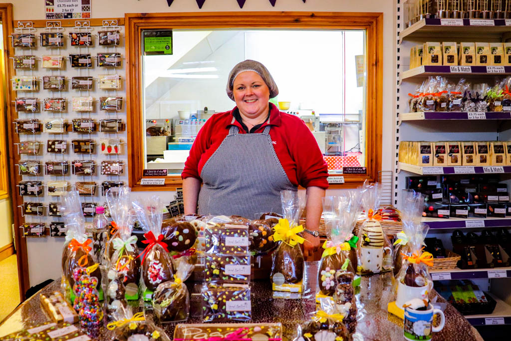 Sarah Bunton Chocolate Wales