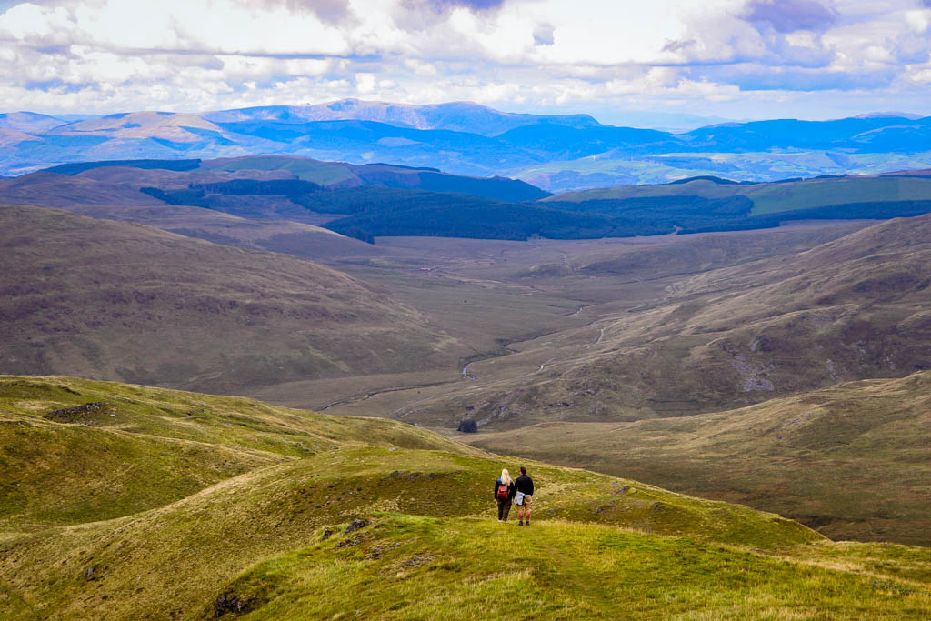 Pumlumon Mountain Wales