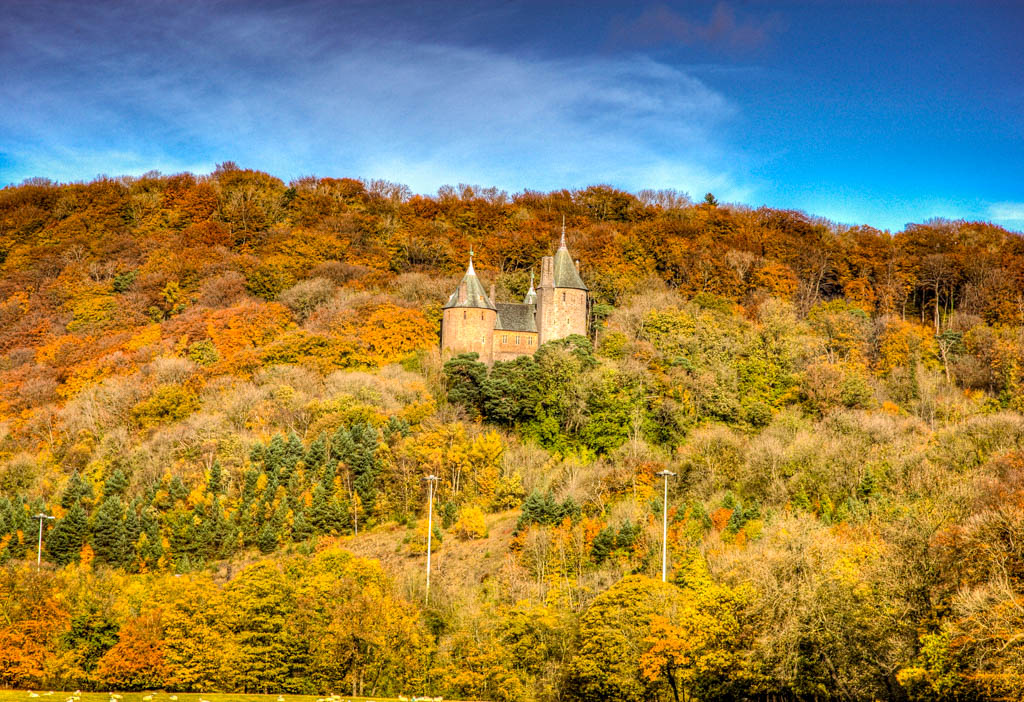 Castell Coch Wales Autumn