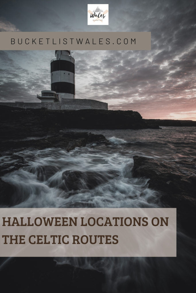 These Celtic Routes Halloween destinations have a broad history of legends, myths and ghost stories for visitors seeking for some spooky locations. These destinations can be found counties of Pembrokeshire, Ceredigion and Carmarthenshire in Wales, and Wicklow, Waterford and Wexford in Ireland. Halloween Destinations   Ireland travel   Haunted locations   Halloween locations   Ireland Halloween   Wales travel