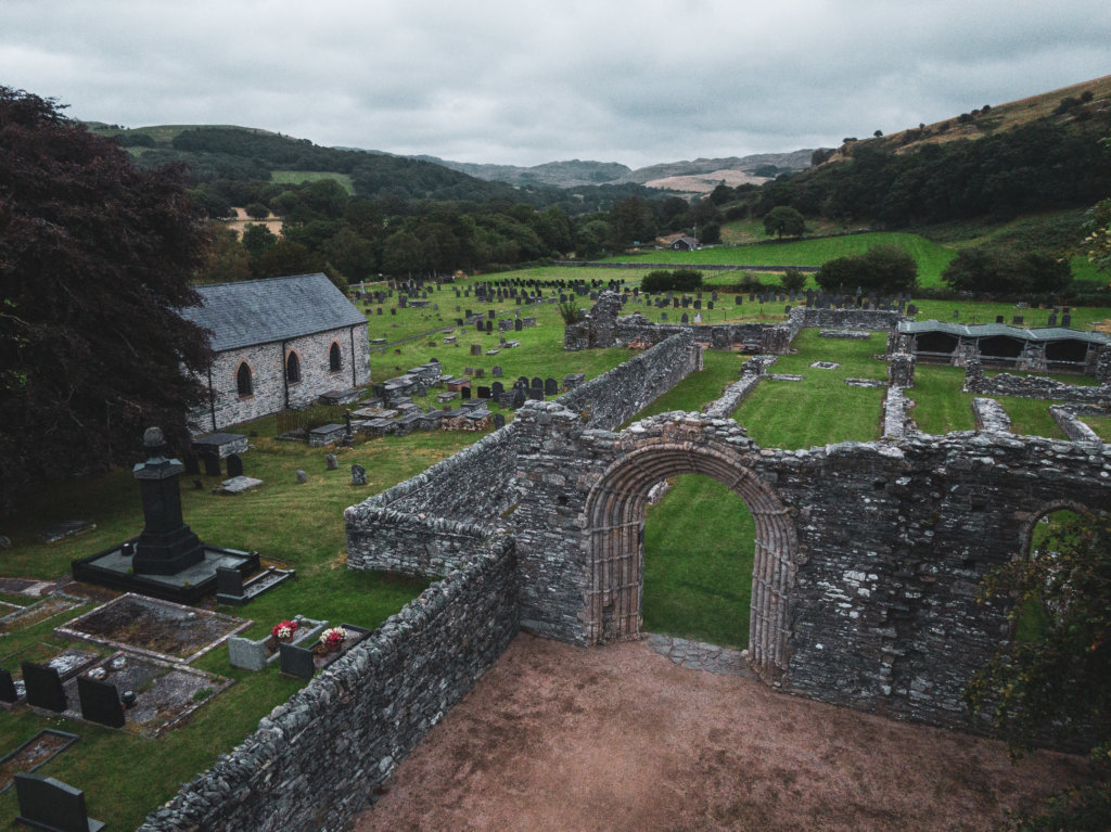 Strata Florida Abbey, Ceredigion