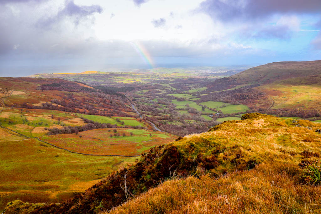 Hiking in the Brecon Beacons National Park