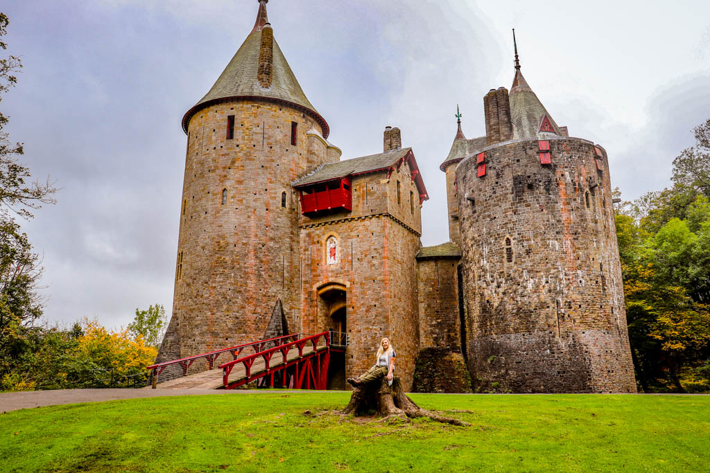 Castell Coch Cambrian way Cardiff section