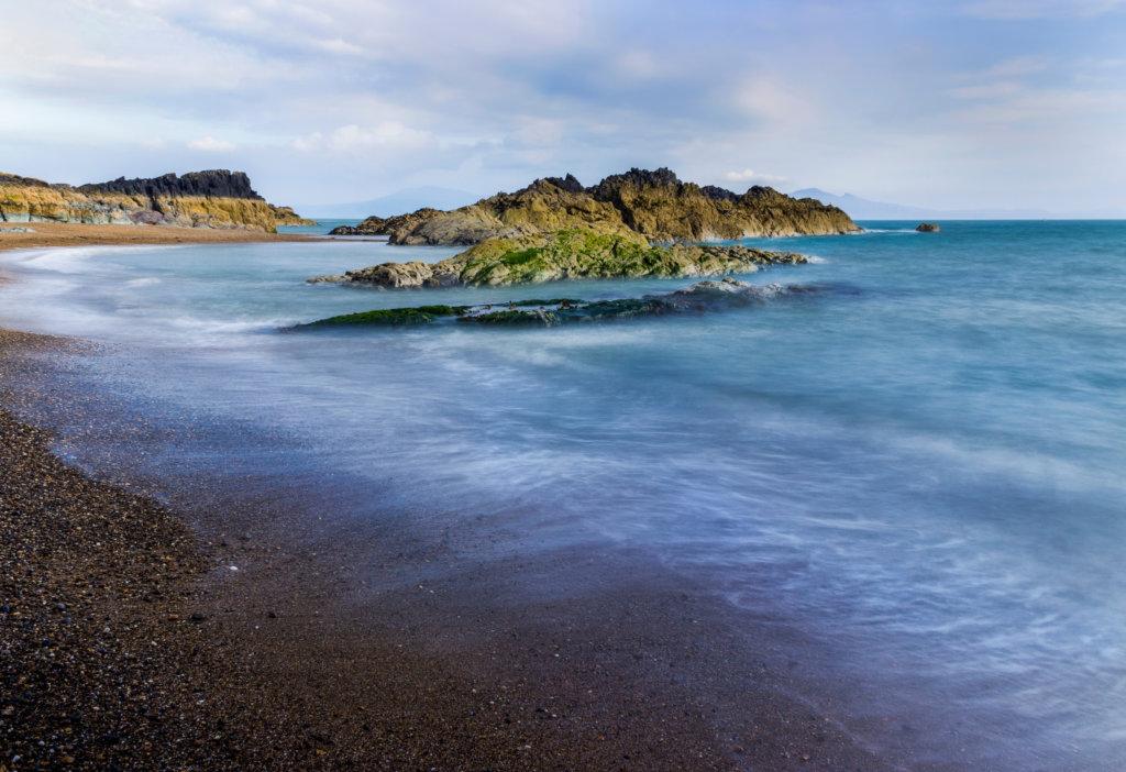 Wales coast path Llanddwyn island
