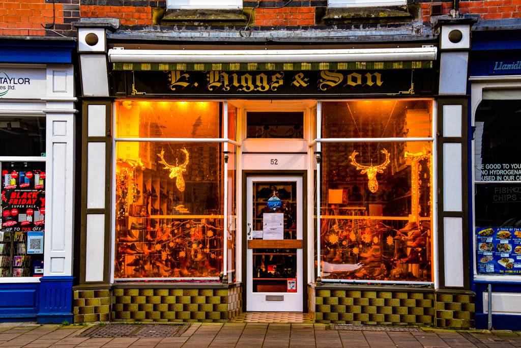 Boutique shops in Llanidloes