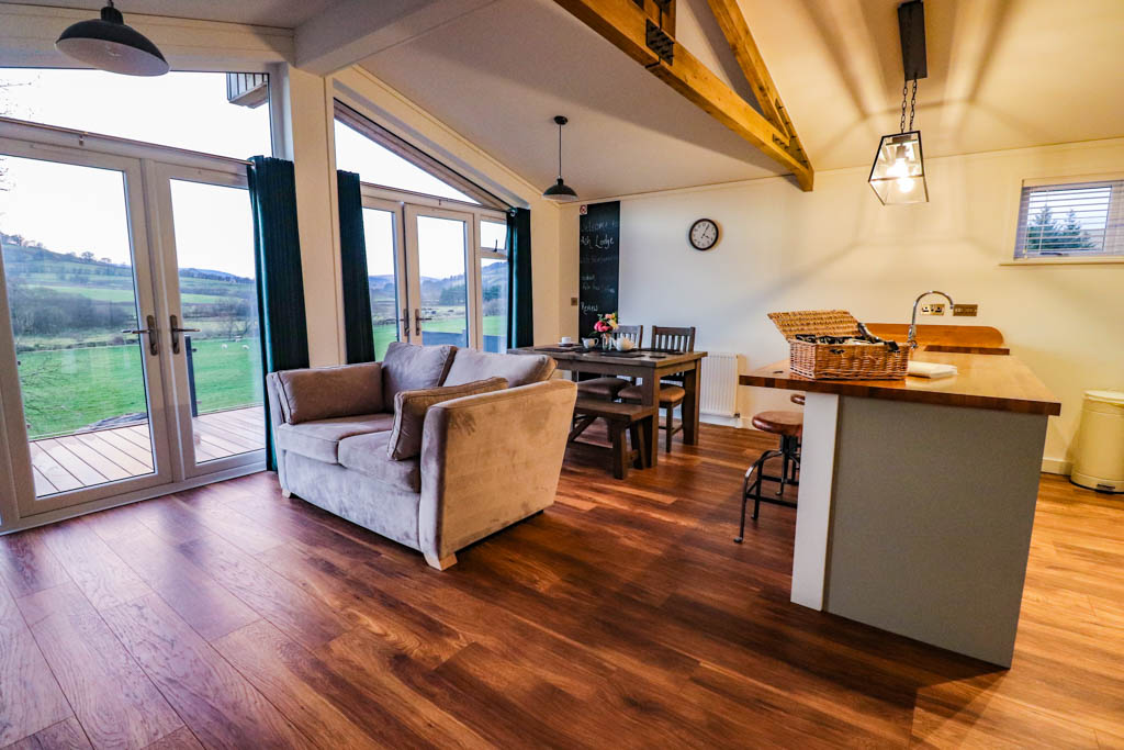 Felin Fawr Lodges hot tub lodges in Wales